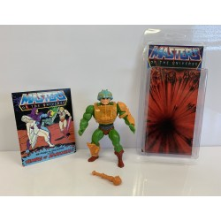 Masters of the Universe Original Mattel Vintage Actionfigur Man-At-Arms (komplett) inkl. Mini Comic & Schutzhülle