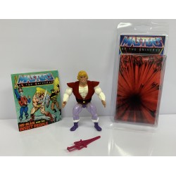 Masters of the Universe Original Mattel Vintage Actionfigur Prince Adam (komplett) inkl. Mini Comic & Schutzhülle