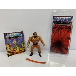 Masters of the Universe Original Mattel Vintage Actionfigur Jitsu (komplett) inkl. Mini Comic & Schutzhülle