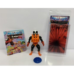 Masters of the Universe Original Mattel Vintage Actionfigur Stinkor (komplett) inkl. Mini Comic & Schutzhülle