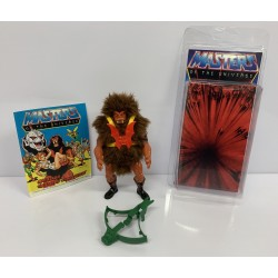 Masters of the Universe Original Mattel Vintage Actionfigur Grizzlor (komplett) inkl. Mini Comic & Schutzhülle