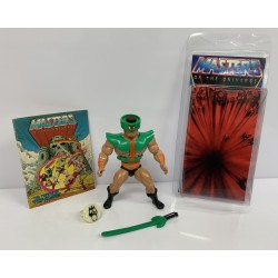 Masters of the Universe Original Mattel Vintage Actionfigur Tri-Klops (Mexico) (komplett) inkl. Mini Comic & Schutzhülle