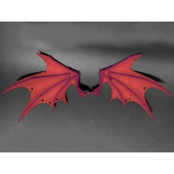 Mythic Legions 'Arethyr' Actionfiguren Zubehör-Set Red Demonic Wings