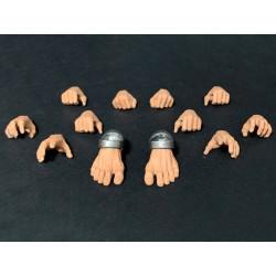 Mythic Legions 'Arethyr' Actionfiguren Zubehör-Set Human Skin Hands & Feet