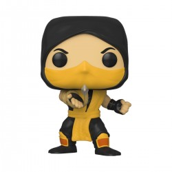 Mortal Kombat POP! Games Vinyl Figur Scorpion (10 cm)
