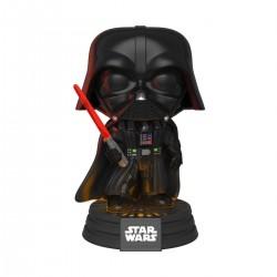 Star Wars Electronic POP! Movies Vinyl Figur mit Sound & Leuchtfunktion Darth Vader (10 cm)