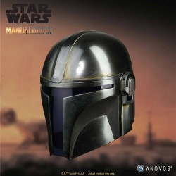 Star Wars Anovos The Mandalorian Replik 1/1 Mandalorian Helm