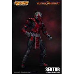 Mortal Kombat Actionfigur 1/12 Sektor (18 cm)