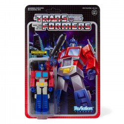 Transformers ReAction Actionfigur Wave 1 Optimus Prime (10 cm)
