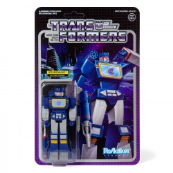 Transformers ReAction Actionfigur Wave 1 Soundwave (10 cm)