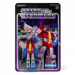 Transformers ReAction Actionfigur Wave 1 Starscream (10 cm)