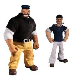 Popeye Actionfiguren 1/12 (One:12) Popeye & Bluto: Stormy Seas Ahead (Deluxe Box Set)