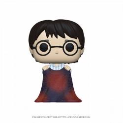 Harry Potter Funko POP! Vinyl Figur Harry with Invisibility Cloak (10 cm)