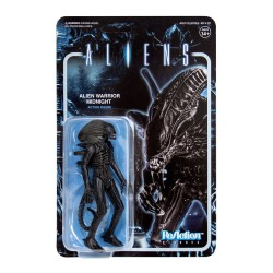 Aliens ReAction Actionfigur Wave 1 Alien Warrior (Midnight Black) (10 cm)