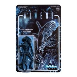 Aliens ReAction Actionfigur Wave 1 Alien Warrior (Nightfall Blue) (10 cm)