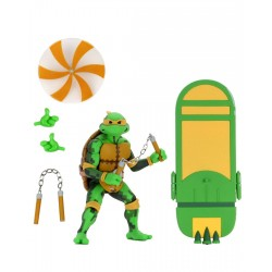 Teenage Mutant Ninja Turtles: Turtles in Time Serie 2 Actionfigur Michelangelo (18 cm)