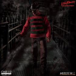 Nightmare On Elm Street Actionfigur One:12 Freddy Krueger (17 cm)