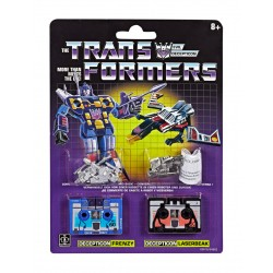 Transformers Reissue Actionfiguren Doppelpack Vintage G1 Frenzy & Laserbeak
