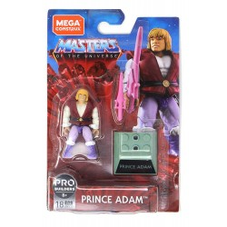 Masters of the Universe Mega Construx Actionfigur Prince Adam