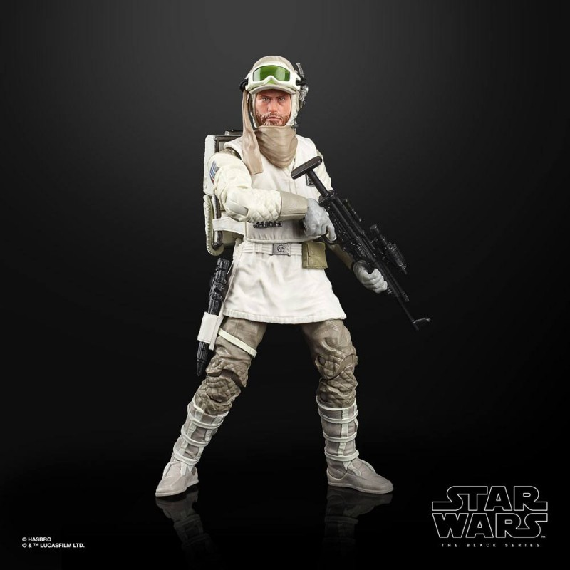 Hoth PRE-ORDER Star Wars The Black Series Empire Strikes Back 40th Wave 2-Rebel Soldier