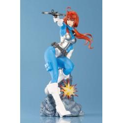 G.I. Joe Bishoujo PVC Statue 1/7 Scarlett (25th Anniversary Sky Blue Color Version) (23 cm)