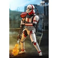 Star Wars The Mandalorian Actionfigur 1/6 Incinerator Stormtrooper (30 cm)