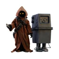 Star Wars Episode IV Hot Toys Movie Masterpiece Actionfiguren Doppelpack 1/6 Jawa & EG-6 Power Droid (18-21 cm)