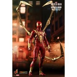 Marvel Spider-Man Hot Toys Video Game Masterpiece Actionfigur 1/6 Spider-Man (Iron Spider Armor) (30 cm)