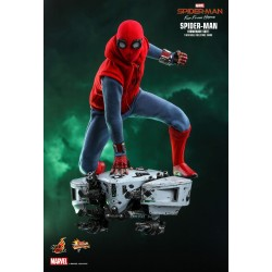 Marvel Spider-Man: Far From Home Movie Masterpiece Actionfigur 1/6 Spider-Man (Homemade Suit) (29 cm)