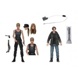 Neca Terminator 2 Tag der Abrechnung Actionfiguren Doppelpack Sarah Connor & John Connor (18 cm)