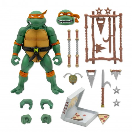 Teenage Mutant Ninja Turtles Ultimates Actionfigur Michaelangelo (18 cm)