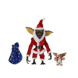 Neca Gremlins Actionfiguren Doppelpack Santa Stripe & Gizmo (18 cm)