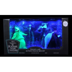 Nightmare before Christmas Actionfiguren Box Set Oogie's Lair (SDCC 2020 Exclusive)