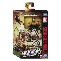 Transformers Generations War for Cybertron: Kingdom Wave 1 Deluxe Blackarachnia (15 cm)