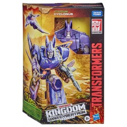 Transformers Generations War for Cybertron: Kingdom Wave 1 Voyager Class Cyclonus (18 cm)