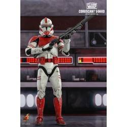 Star Wars The Clone Wars Actionfigur 1/6 Coruscant Guard (30 cm)