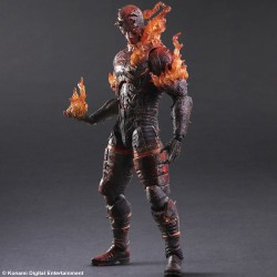 Play Arts Kai Metal Gear Solid V The Phantom Pain Actionfigur Man on Fire  (29 cm)