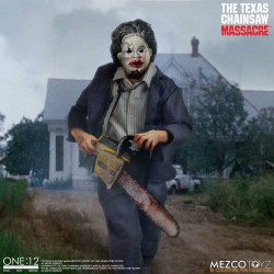 Texas Chainsaw Massacre Actionfigur One:12 Leatherface (Deluxe Edition) (17 cm)