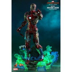 Hot Toys Marvel Spider-Man: Far From Home Movie Masterpiece Series Actionfigur 1/6 Mysterio's Iron Man Illusion (32 cm)