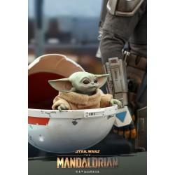 Star Wars The Mandalorian Hot Toys 1/4 Masterpiece Actionfigur The Child (9 cm)
