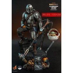 Star Wars The Mandalorian Actionfiguren Doppelpack 1/4 The Mandalorian & The Child (46 cm) (Deluxe Version)