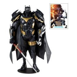 DC Multiverse White Knight Actionfigur Azrael 'Batman' Armor (Azbat) (18 cm)