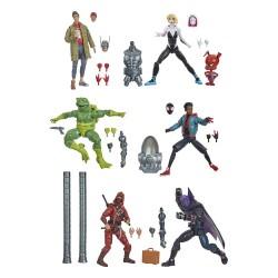 """Marvel Legends Series 14 'Amazing Spider-Man' Set mit 6 Figuren 6"""" (15 cm)"""