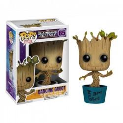 Marvel Guardians of the Galaxy Funko POP! Vinyl Wackelkopf-Figur I am Dancing Groot (10 cm)