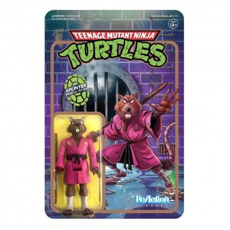 Teenage Mutant Ninja Turtles ReAction Actionfigur Splinter (10 cm)