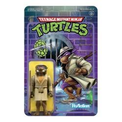 Teenage Mutant Ninja Turtles ReAction Actionfigur Undercover Donatello (10 cm)