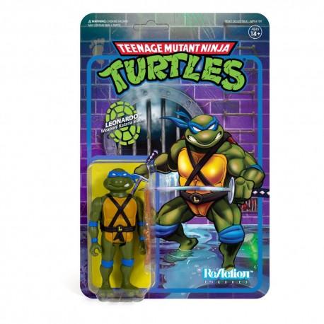 Teenage Mutant Ninja Turtles ReAction Actionfigur Leonardo (10 cm)