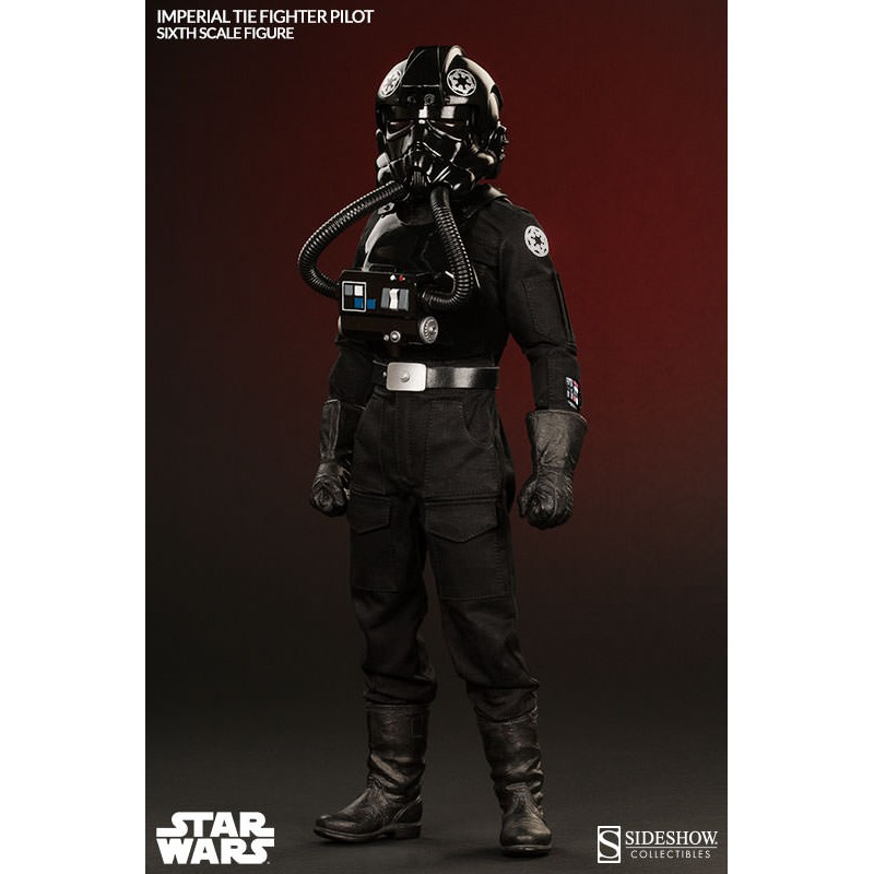 star wars sideshow collectibles 1 6 actionfigur imperial tie fighter pilot 30 cm toystar gmbh. Black Bedroom Furniture Sets. Home Design Ideas