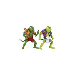 Teenage Mutant Ninja Turtles Actionfiguren Doppelpack Genghis & Rasputin Frog (18 cm)
