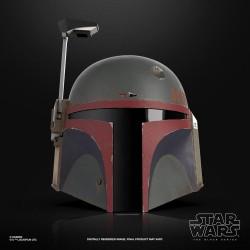Star Wars The Mandalorian Black Series Elektronischer Premium-Helm Boba Fett (Re-Armored)